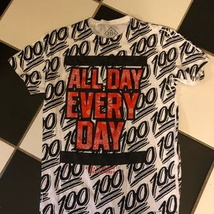 All day Everyday - 100 printed Tee